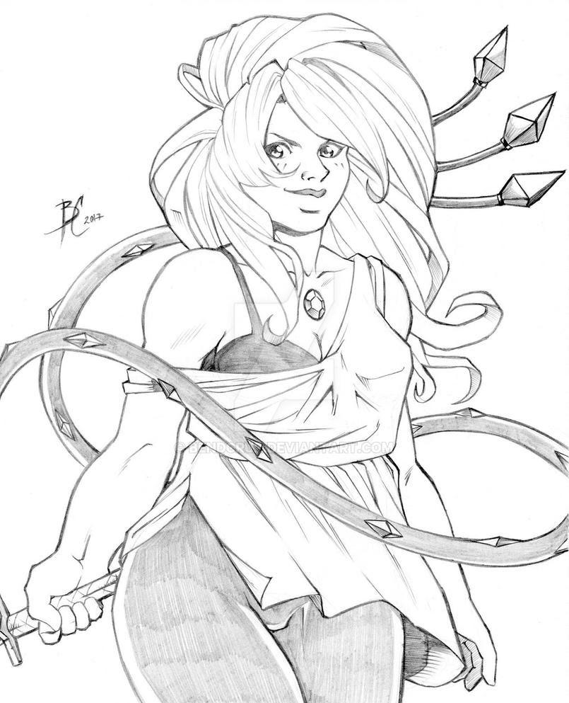 Amethyst Sketch