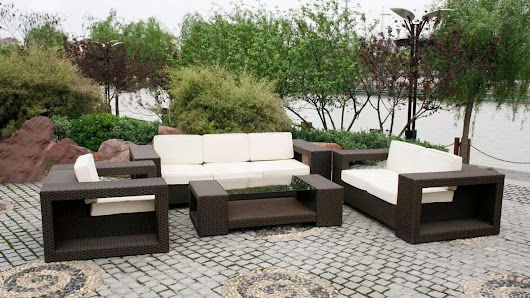 Some Ideas Of Contemporary Outdoor Furniture With Simple Design - Interior Design Inspirations