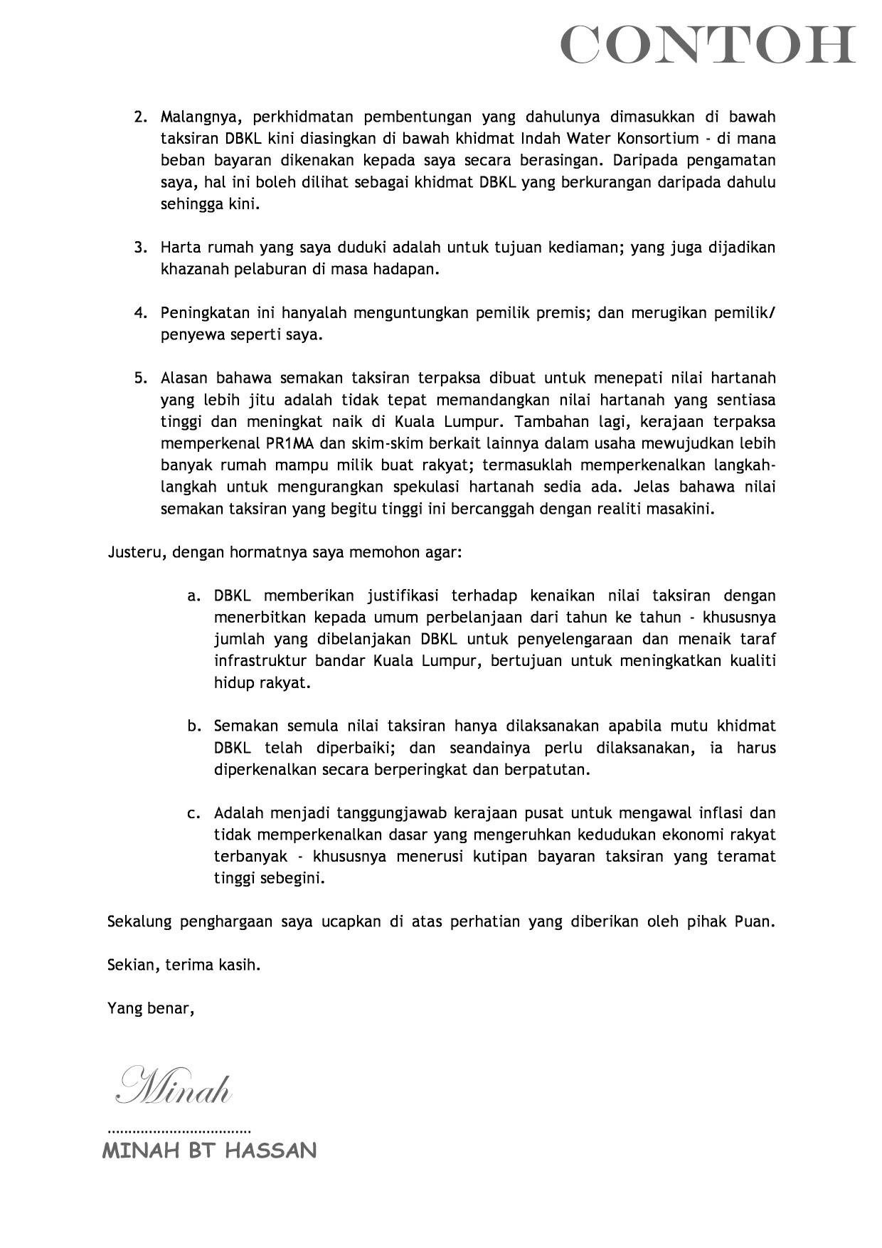 surat rasmi gst frasmi