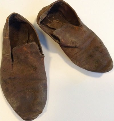 Workers find centuries-old shoes in historic Newport home