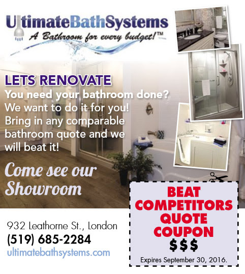 Specials - Ultimate Bath Systems