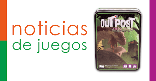 Outpost Amazon será publicado por IDW Games