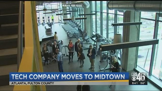 Tech company moves to midtown