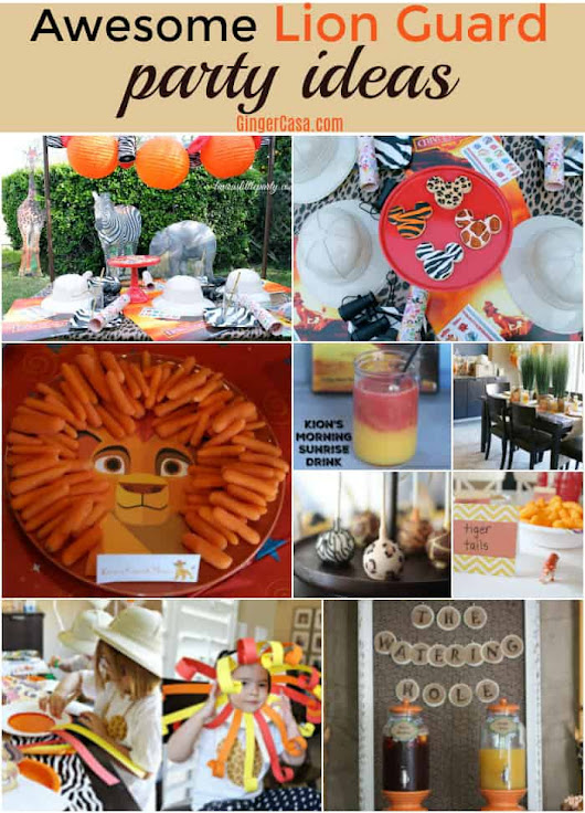 Throw An Awesome Lion Guard Party For Your Little Ones!