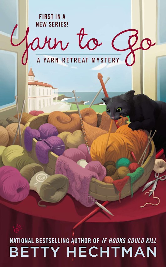 Crafty Audiobook Review: Yarn to Go: A Yarn Retreat Mystery, Book 1 | Red-Handled Scissors