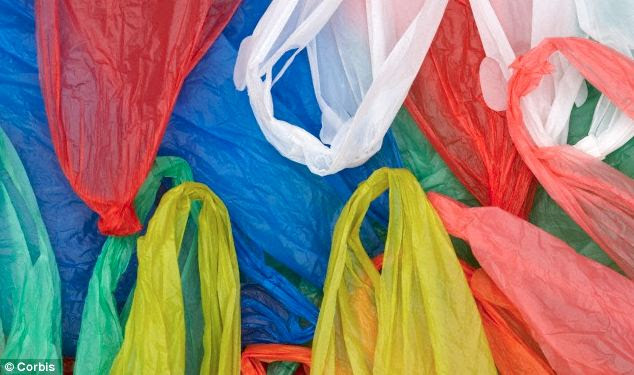 Plastic fantastic? Carrier bags could provide a new source of fuel after scientists manage to convert the material into petrol, natural gas, oil and wax