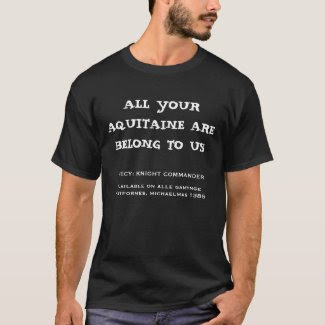 Chaucer Blog: All your Aquitaine t-shirt
