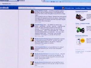 Estudante disse que era hostilizado no Facebook (Foto: Reprodução/EPTV)
