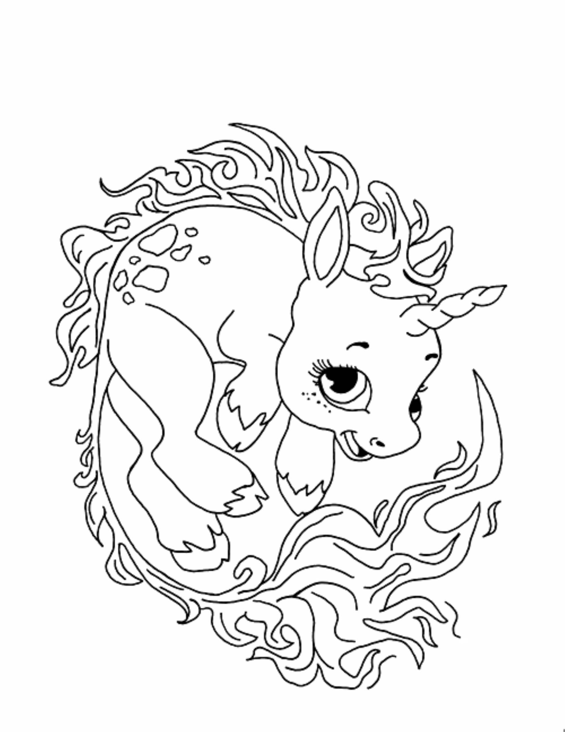 91 Top Colouring Pages Unicorn Free , Free HD Download