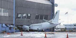 Acidente  com avião regional na Suécia
