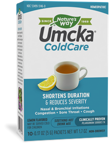 15146 - Umcka ColdCare Soothing Hot Drink Lemon