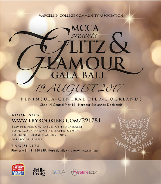 MCCA GLITZ AND GLAMOUR BALL, 2017