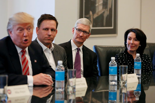 Tim Cook confirms: tech met with Trump to ask for billions in tax breaks