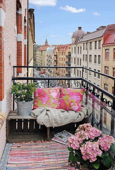 Inricht ideeen balkon