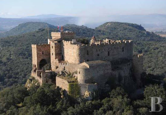 Cathar Medieval Fortress in South of France For Sale Copyright by Patrice Besse