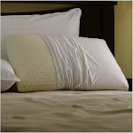 Restful Nights Even Form Latex Pillow, White, King