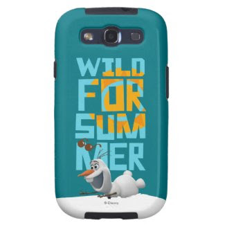 Olaf, Wild for Summer Samsung Galaxy SIII Covers