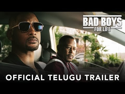 BAD BOYS FOR LIFE   Official Telugu Trailer   In Cinemas January 2020