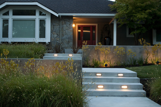 Front Yard Retreat - modern - landscape - by Shades Of Green ...