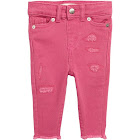 Levi's Baby Girls' 710 Super Skinny Jeans - Pink, 12 Months