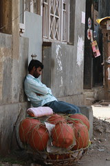 the water pot seller has gone to sleep by firoze shakir photographerno1