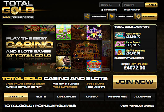 Total Gold Slots  - Claim your FREE £10 from Total Gold Slots ! | Slotfruit