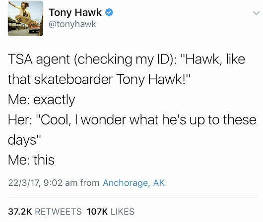 What is Tony Hawk up to these days? - Album on Imgur