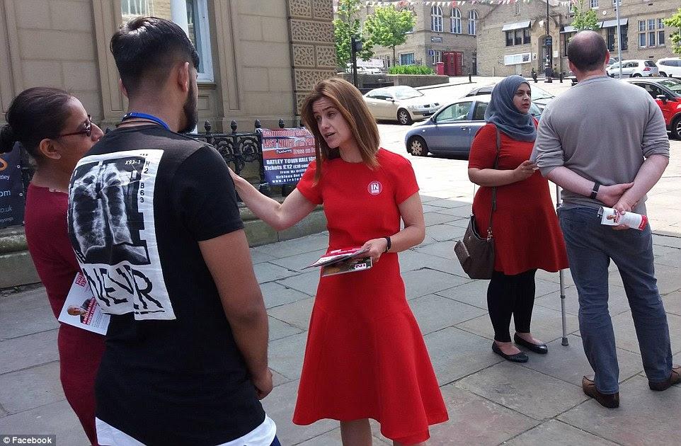 Trabajo MP Sra Cox ha estado haciendo campaña para que Gran Bretaña permanecer en la UE en las últimas semanas