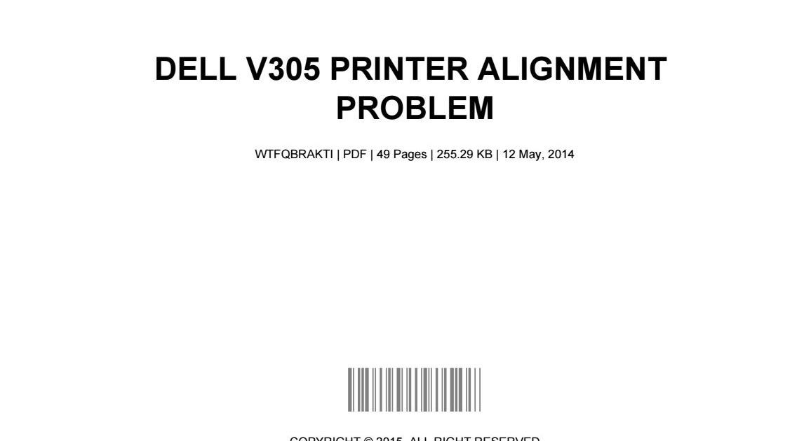Dell V305 Printer Manual Download Pdf / D28f Domino Dpx