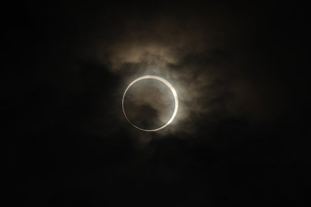Annular Solar Eclipse Observed …