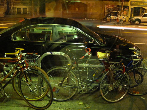 bike parking at π