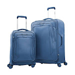 Samsonite Sahora 2-Piece Softside Luggage Set, Blue
