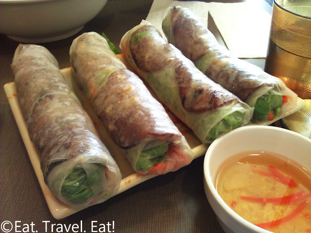 Golden Deli- Temple City, CA: Spring Rolls (w/ Grilled Beef)