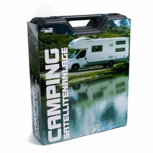 sat camping koffer 38 cm stahlantenne mit stativ aus alu. Black Bedroom Furniture Sets. Home Design Ideas