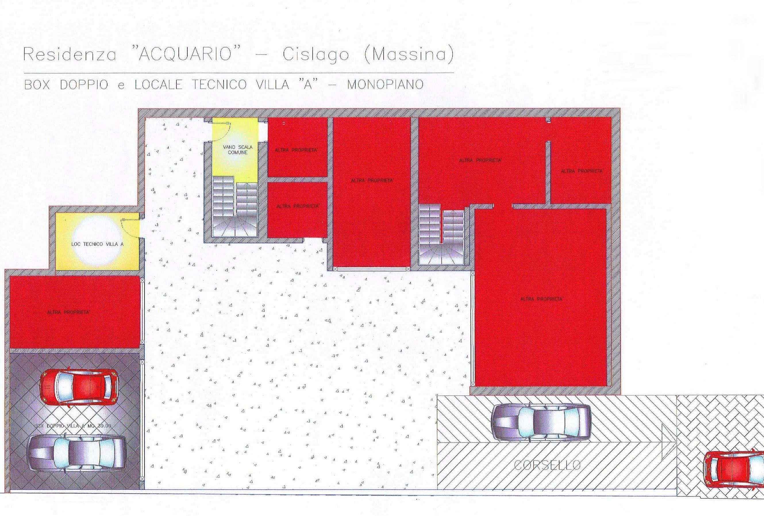 Villa Monopiano Planimetria Casa 200 Mq