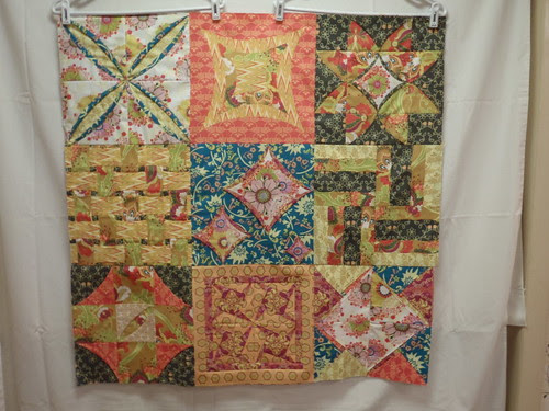 Cathedral Window QAL Quilt