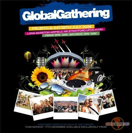 Global Gathering 2008 drum&bass Sets (2008)