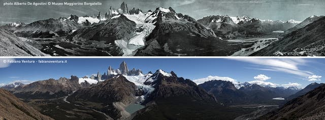 Panorámica del Cerro Torre