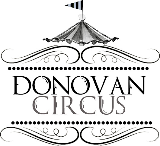 Four Books - 99 Cents - Get the Whole Donovan Circus Set for ONE Dollar!