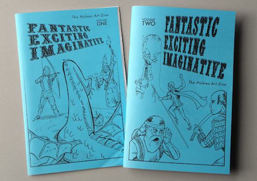 bygrinstow The Fantastic! Exciting! Imaginative! Zine