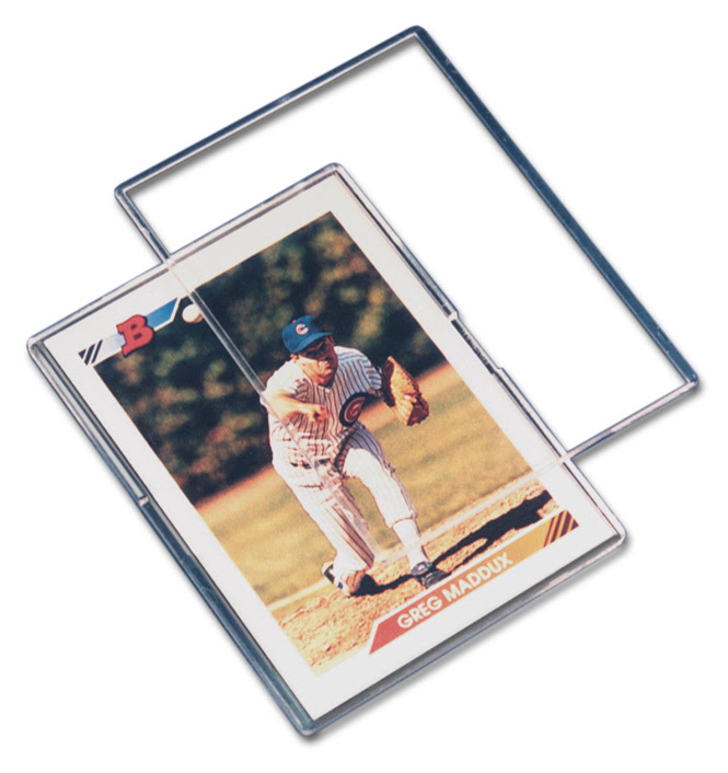 Mini-Snap Trading Card Holder by Pro-Mold