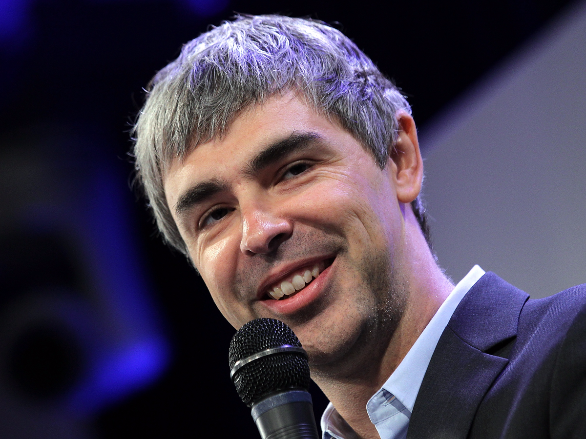 11. Larry Page