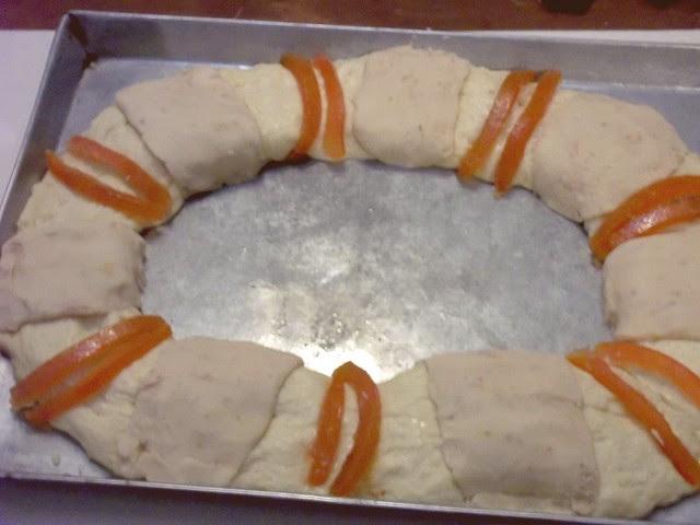 Uncooked Rosca de Reyes