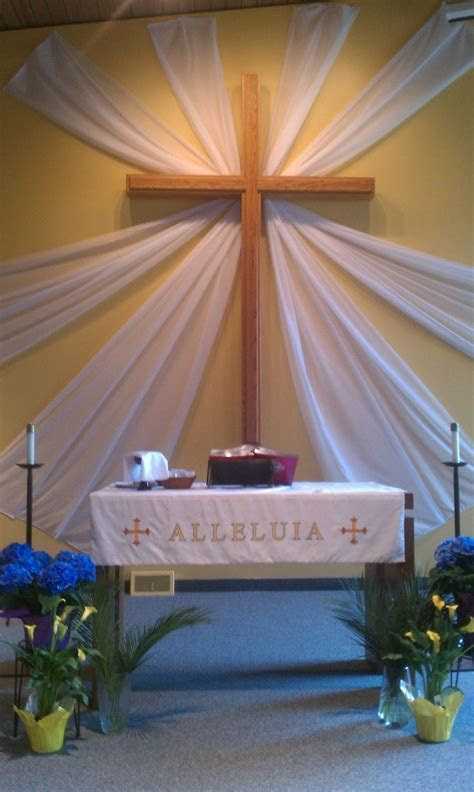 altar decoration for easter   Google Search   altar ideas