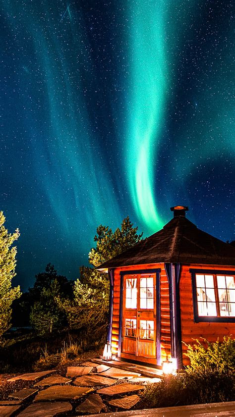 aurora gronoy norway windows  spotlight images