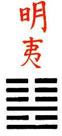 Ji Djing Heksagram 36 Ming i Zalazak Sunca