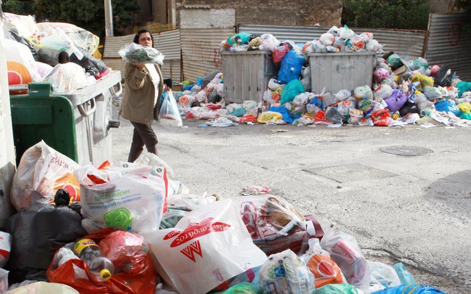Στην Αττική παράγεται το 40% των απορριμμάτων της χώρας.