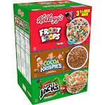 Kelloggs Cereal, Fun Pack - 58 oz
