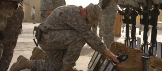 New Report: Suicide Kills Almost 5 Times as Many U.S. Troops as Combat Does