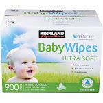 Kirkland Signature Baby Wipes - 900 count